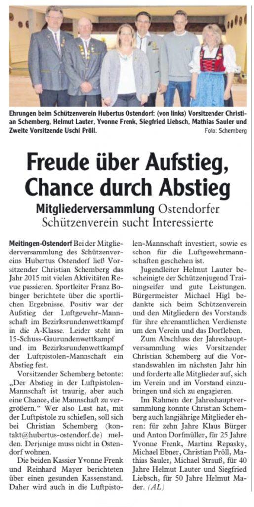 JHV2016-Zeitungsbericht