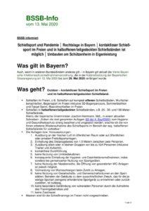 thumbnail of BSSB-Info – Aktuelles zur Covid-19-Pandemie – Stand 13-05-2020